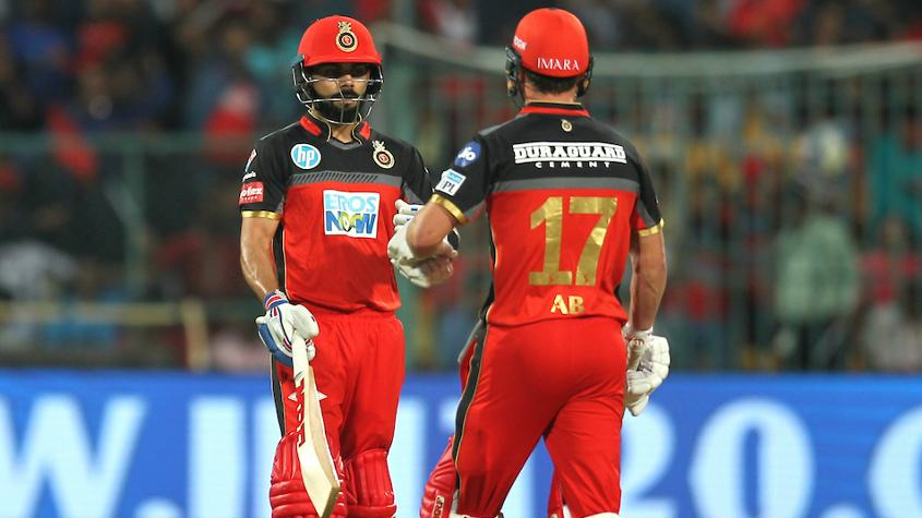 De Villiers and Kohli have always fed off each other's confidence