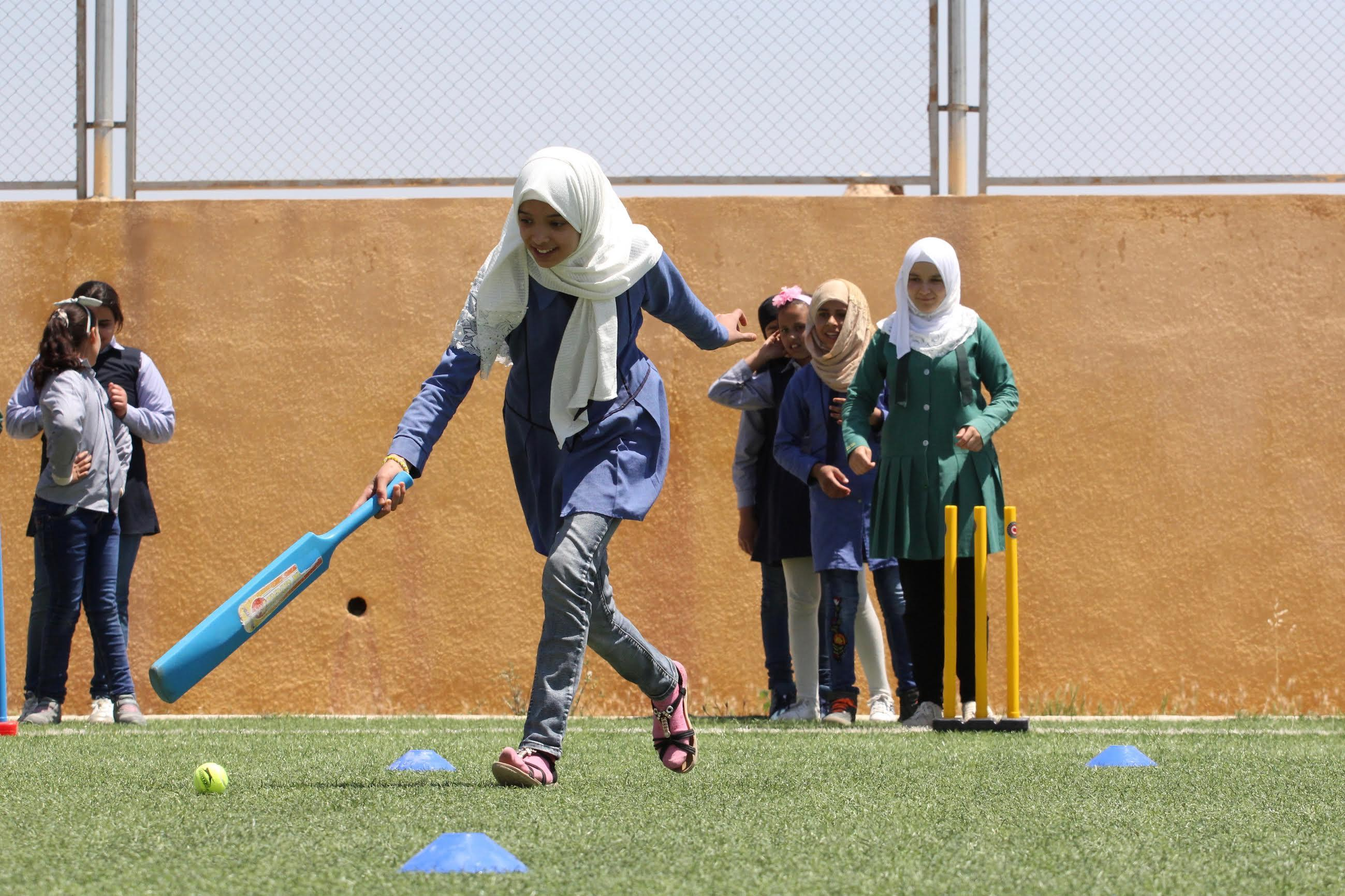 Cricket helping Syrian refugees access education