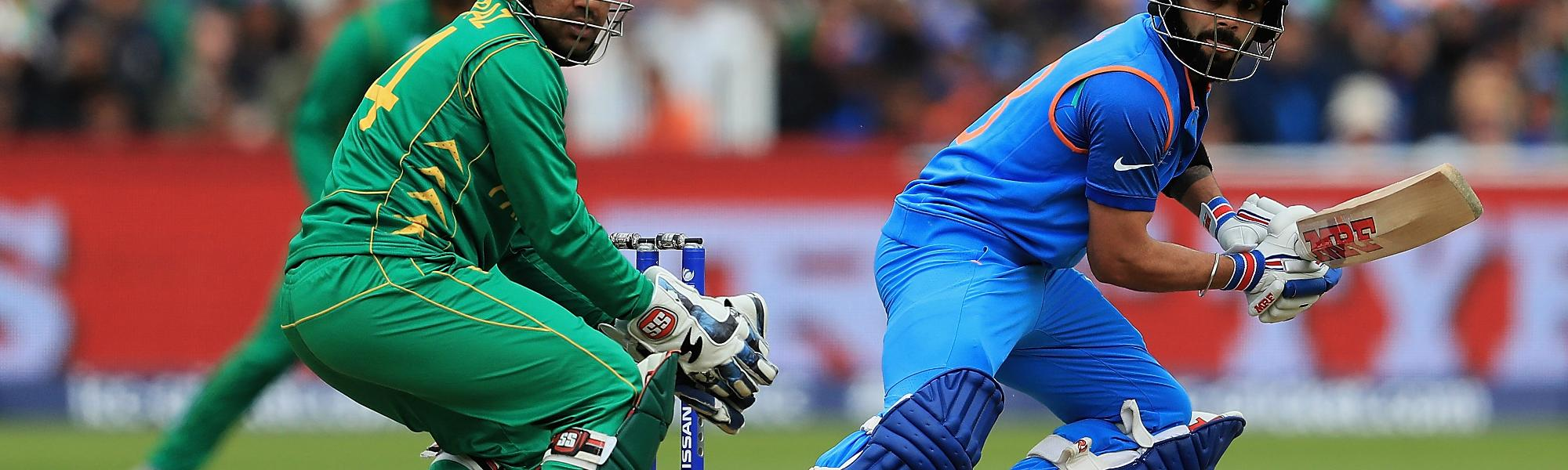 India and Pakistan will face off on 16 June at Old Trafford