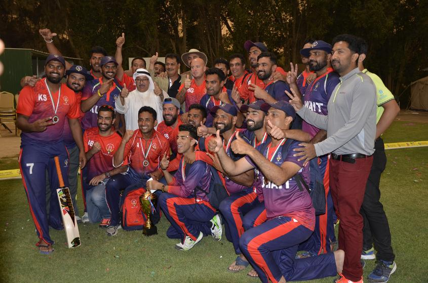 kuwait claimed third spot in the ICC World Twenty20 Asia Qualifiers %u2018A'