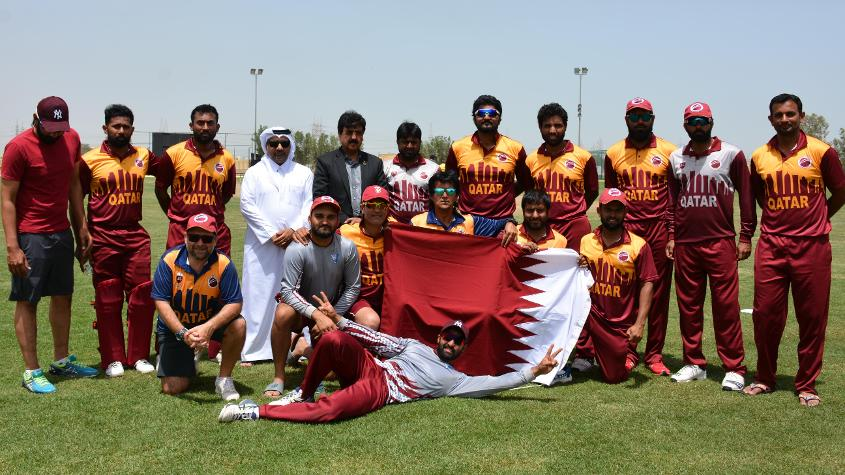 Qatar joined UAE in the playoffs