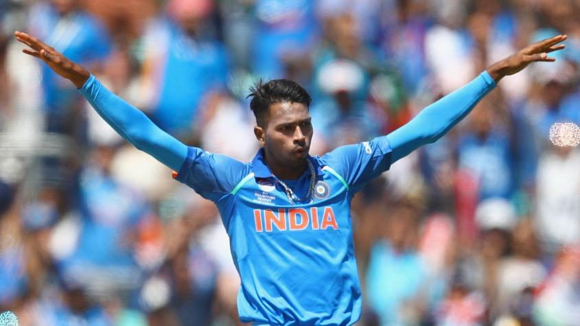Hardik Pandya joins Dinesh Karthik in the Rest of the World XI squad