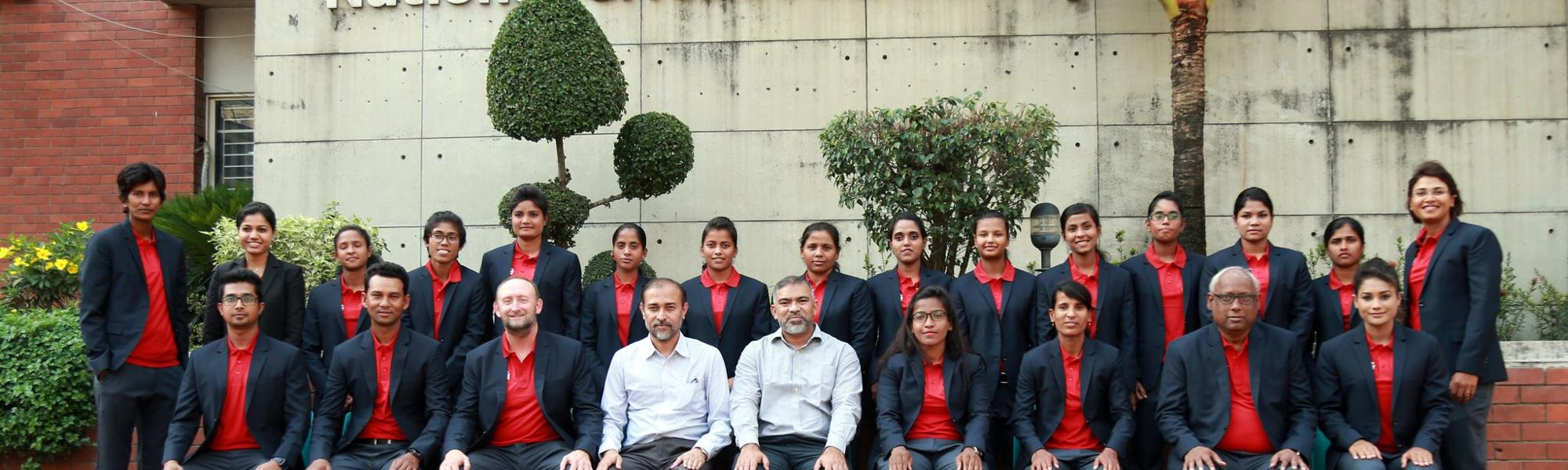 Bangladesh Women ahead of their tour of South Africa