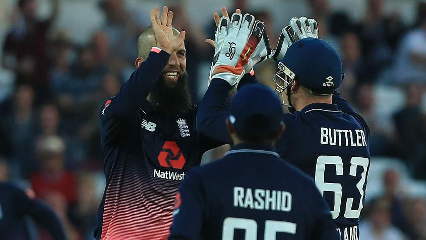 Moeen Ali's all-round show helped England top South Africa at Headingley in May 2017