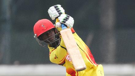 Muhammad Irfan top scored for Uganda with a 17-ball 51, including seven sixes