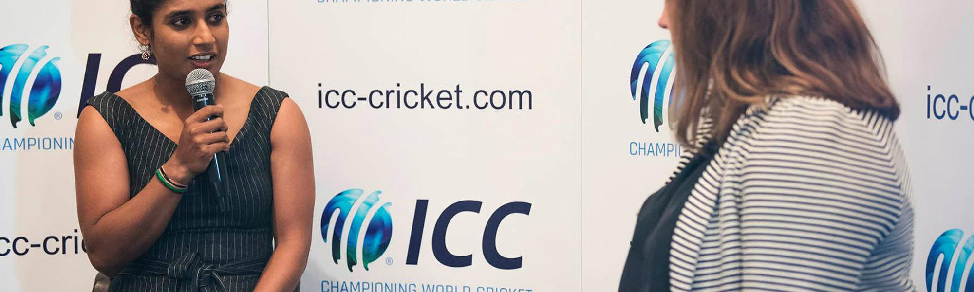 Mithali Raj - ICC Women's Cricket Forum 2018