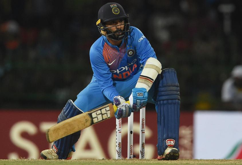 Dinesh Karthik will also join an ICC World XI for the high-profile T20I against the Windies