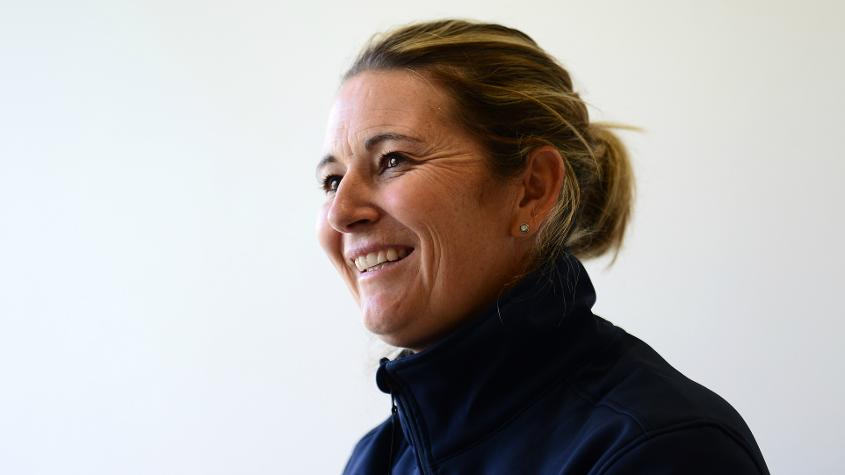 Charlotte Edwards is one of the faces of the World Cup Cricketeer programme.