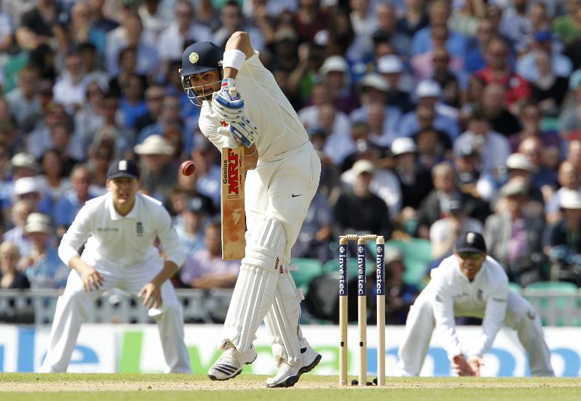 Kohli had an uncharacteristically lean series in England in 2014