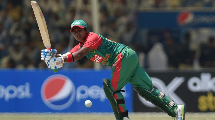 Fargana Hoque's resilient 61* wasn't enough as Bangladesh went down by 106 runs in the opening ODI