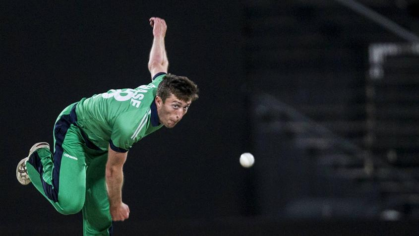 Peter Chase picked up two early wickets for Leinster Lightning