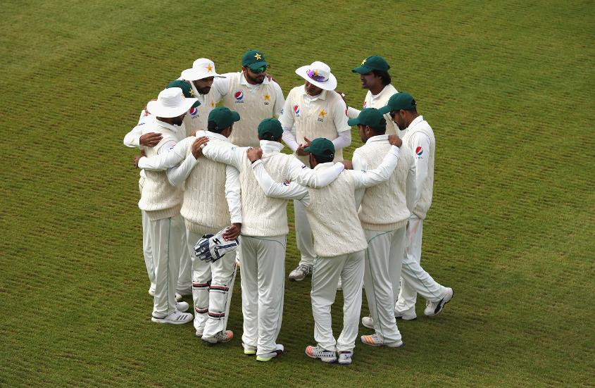 Pakistan were given a real workout in the field by Northamptonshire