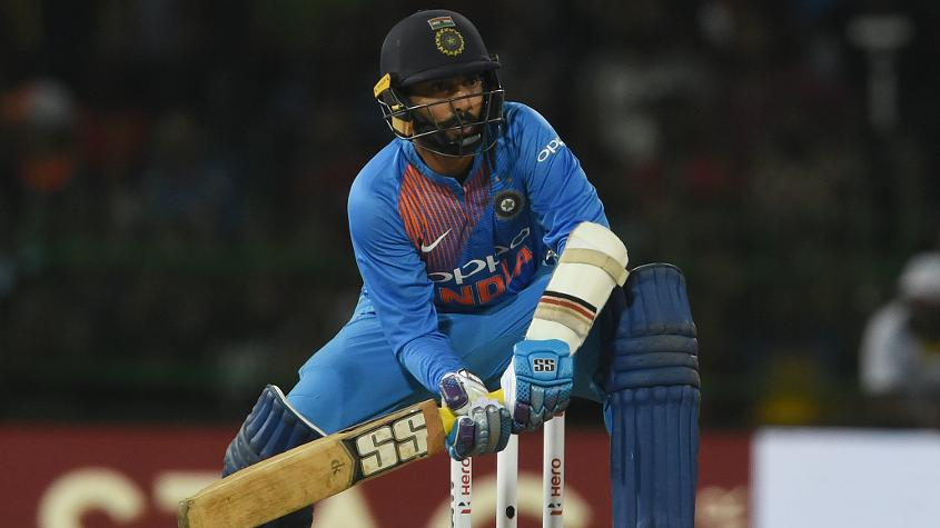 Dinesh Karthik (in picture) and Hardik Pandya from India are also part of Rest of the World squad