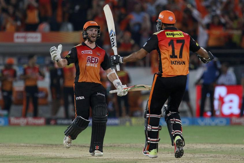 Sunrisers Hyderabad are currently sitting at the top of the IPL points table