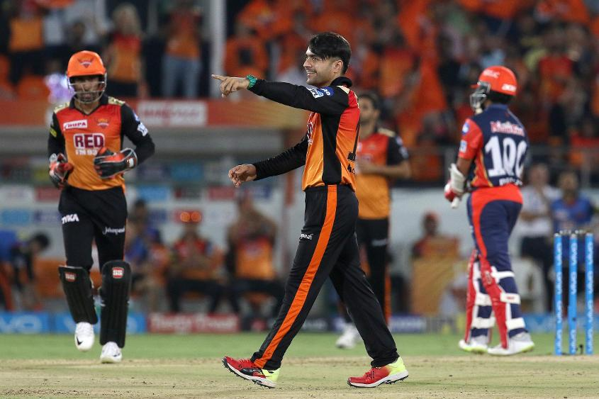 Rashid Khan marked his 100th T20 appearance with a Player of the Match performance