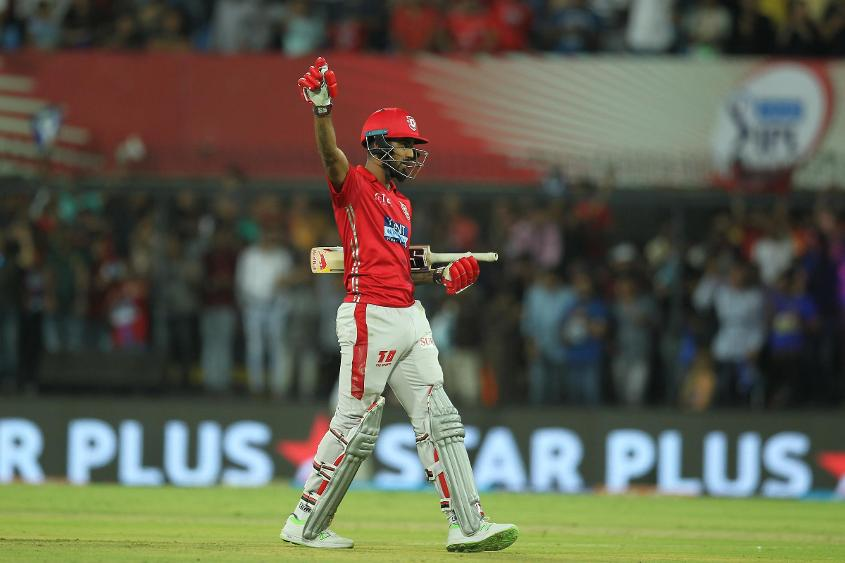 KL Rahul took Punjab across the line against Rajasthan with 84* in 54 balls
