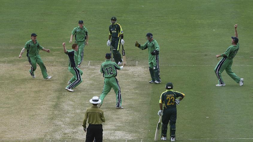 Ireland famously knocked Pakistan out of the ICC Cricket World Cup 2007