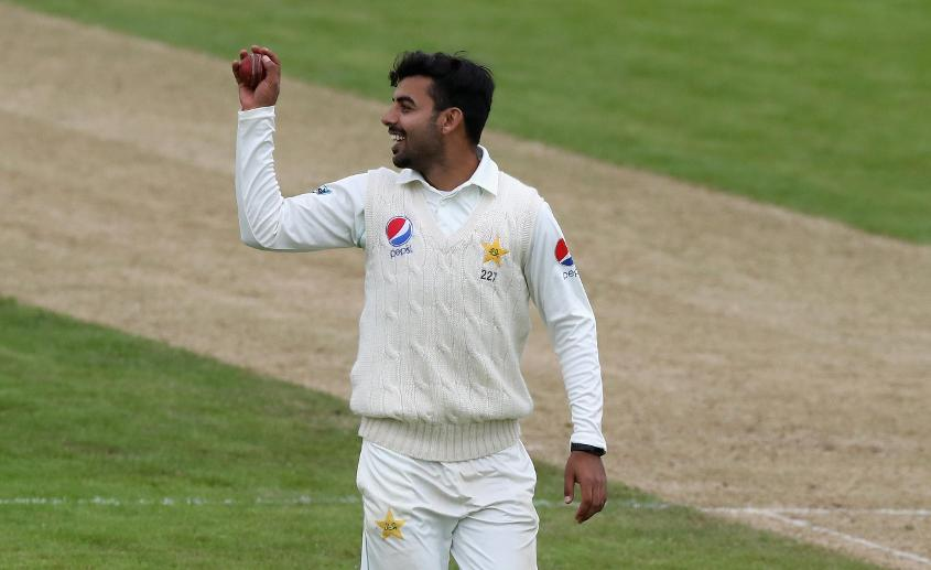 Shadab Khan took a 10-wicket haul against Northamptonshire