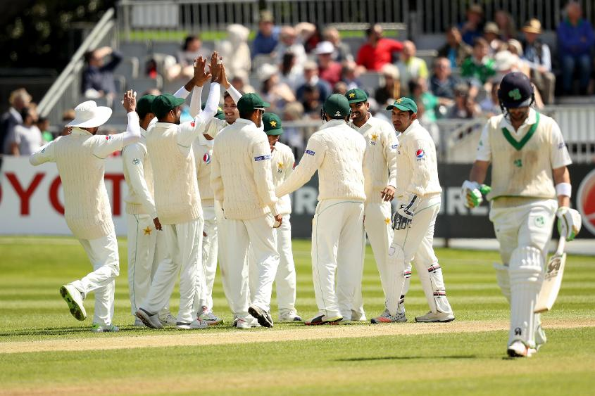 Pakistan bundled out Ireland for 130