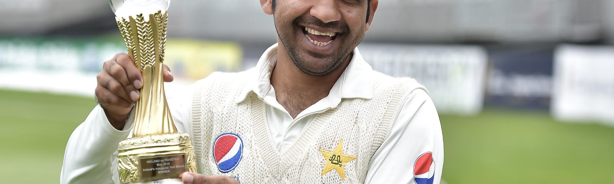 Smiling Sarfraz