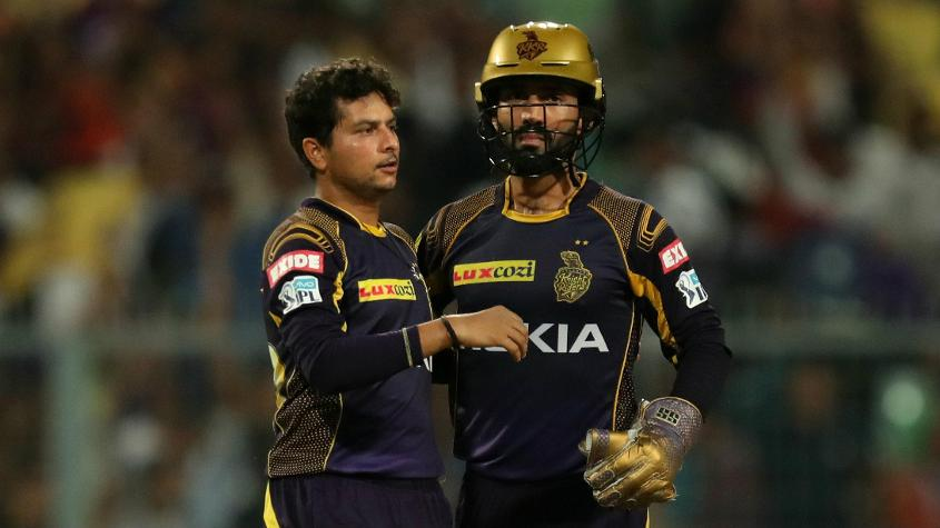 'Sometimes I feel he's so confident, he just gives away an easy ball' - Dinesh Karthik on Yadav