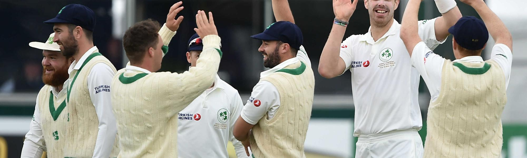 Ireland gave Pakistan a scare when they had the visitors down at 14/3 in the second innings