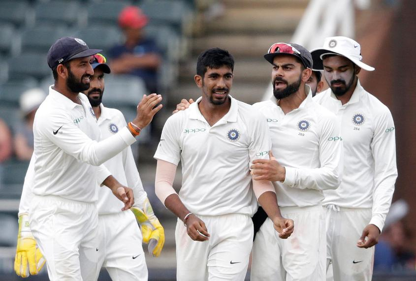 Jasprit Bumrah made his Test debut during India's tour of South Africa earlier this year