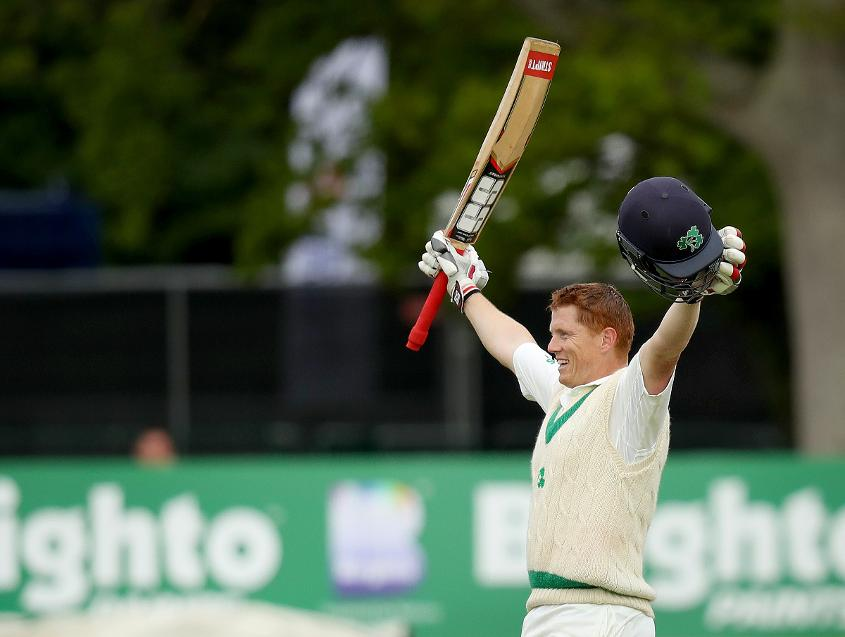 After his historic century against England, Kevin O'brien stepped up once again with a crucial fifty against Afghanistan