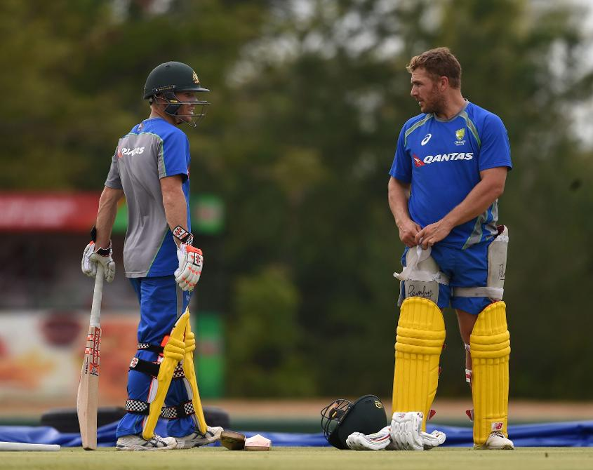 Aaron Finch has replaced David Warner as vice-captain of Australia's ODI side