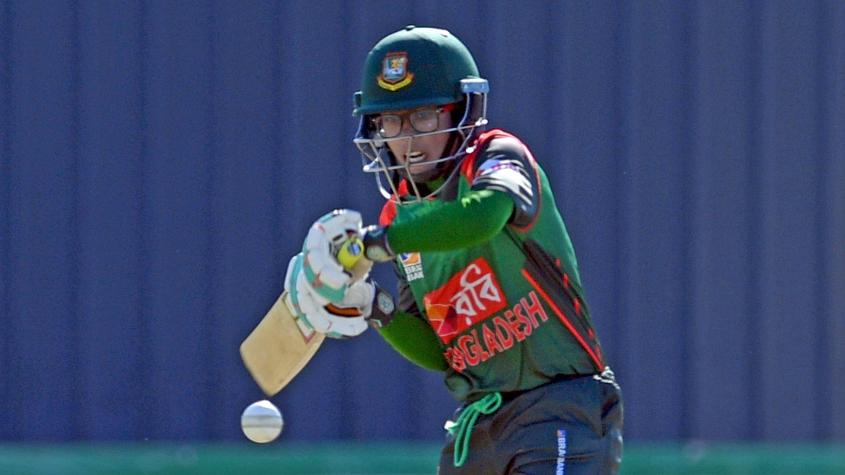 Rumana Ahmed top scored for Bangladesh with 36 runs to her name