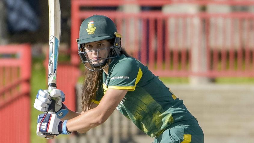 Laura Wolvaardt added 77 runs for the first wicket for South Africa with Lizelle Lee
