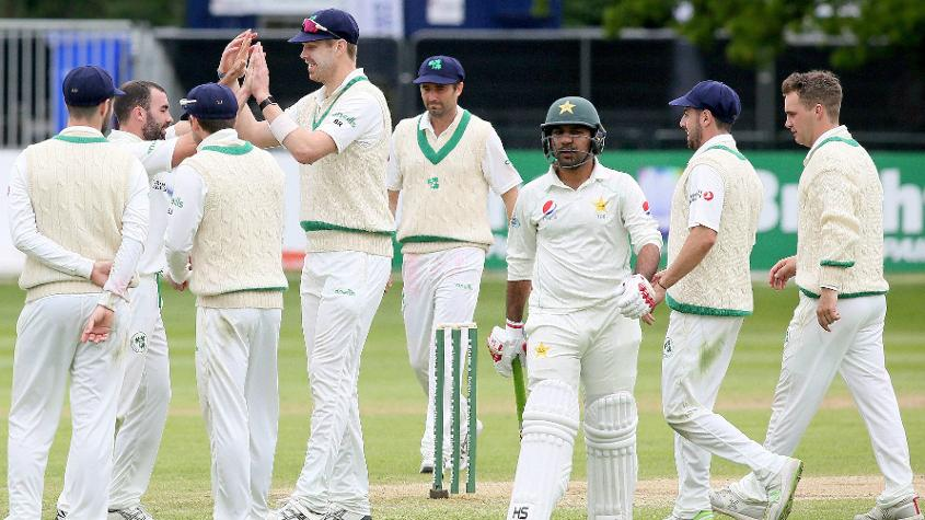 Despite an impressive outing, Ireland lost their debut Test match against Pakistan