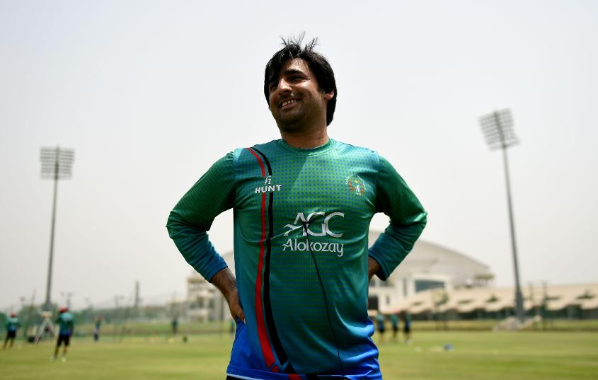 Afghanistan are practising in Greater Noida in India ahead of the Test