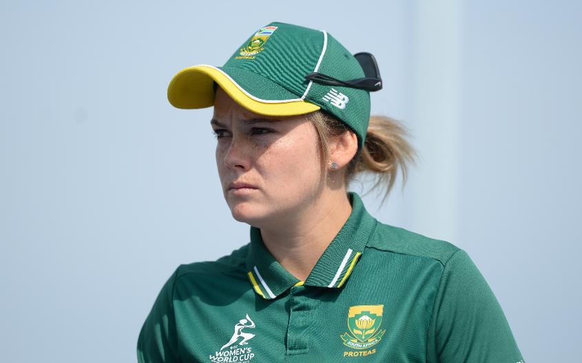 South Africa captain Dane van Niekerk starred with both bat and ball
