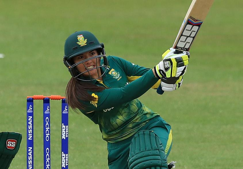 Sune Luus registered her first T20I half-century