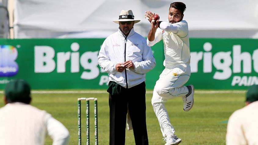Faheem Ashraf made his debut against Ireland