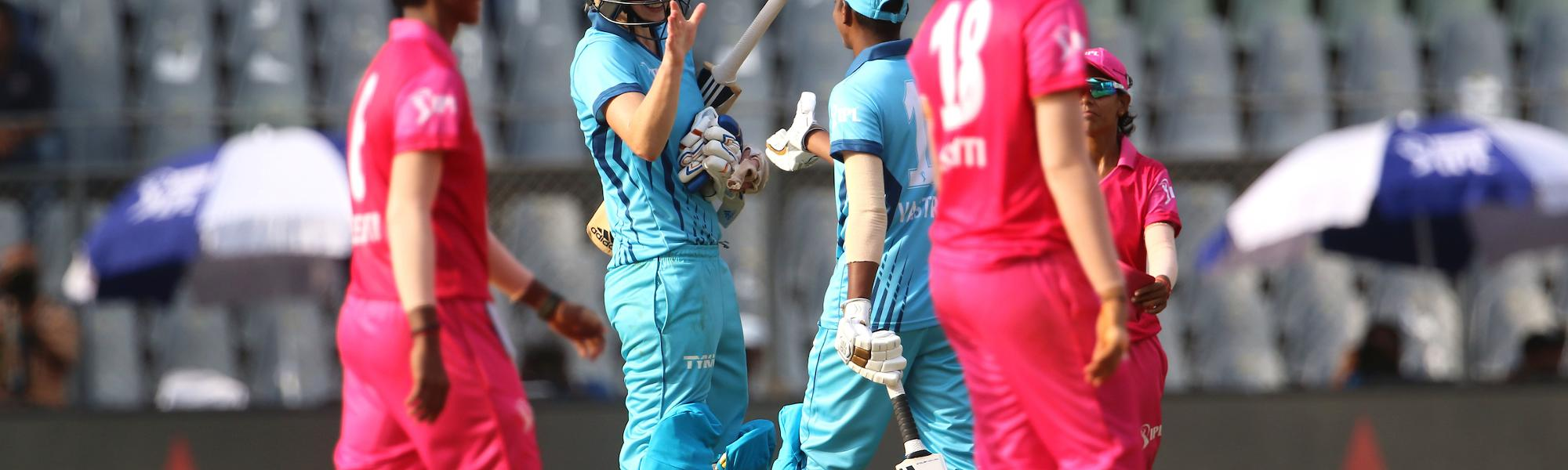 Supernovas won by the Womens T20 Challenge match by three wickets