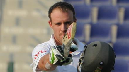 278 not out: De Villiers' highest Test score, against Pakistan in Abu Dhabi in November 2010