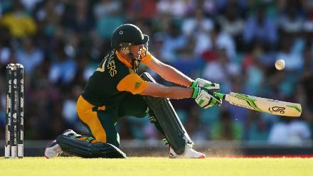 150 in 64 balls: The Windies were blown away as de Villiers smashed 17 fours and eight sixes in the 2015 World Cup match in Sydney