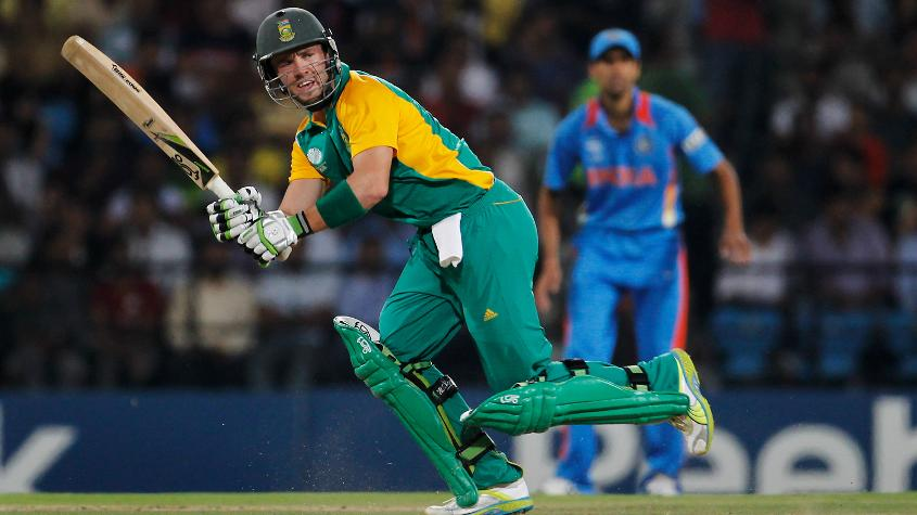 Set 297 for a win, de Villiers struck a quickfire 52 in 39 balls, to setup a thrilling win for South Africa