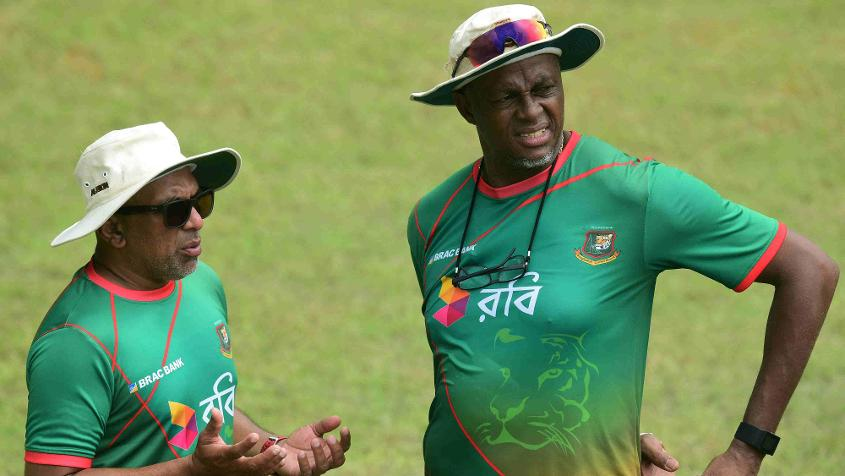 Courtney Walsh joined the Bangladesh team as bowling coach during Chandika Hathurusingha's stint as the head coach