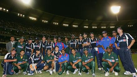 An ICC World XI played an Asia XI side in an ODI in Melbourne in January 2005 to raise funds for tsunami relief