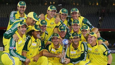 The ICC Super Series, pitting Australia against a World XI side, was developed by the ICC in 2005