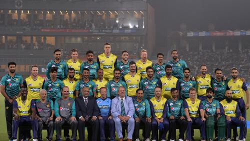A World XI team toured Pakistan for three T20Is, all played in Lahore, in September 2017