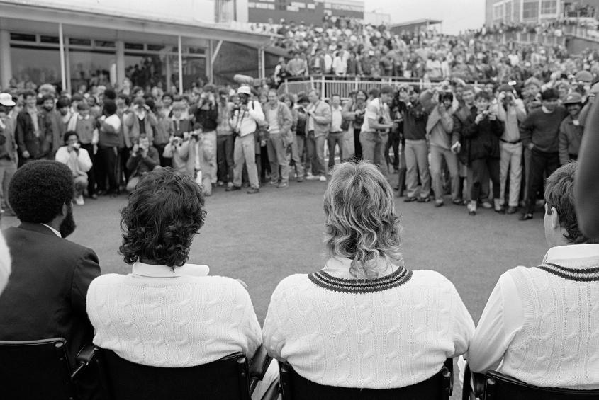 The Sport Aid clash at Edgbaston in 1986 brought together Imran Khan and Ian Botham in a ROW XI