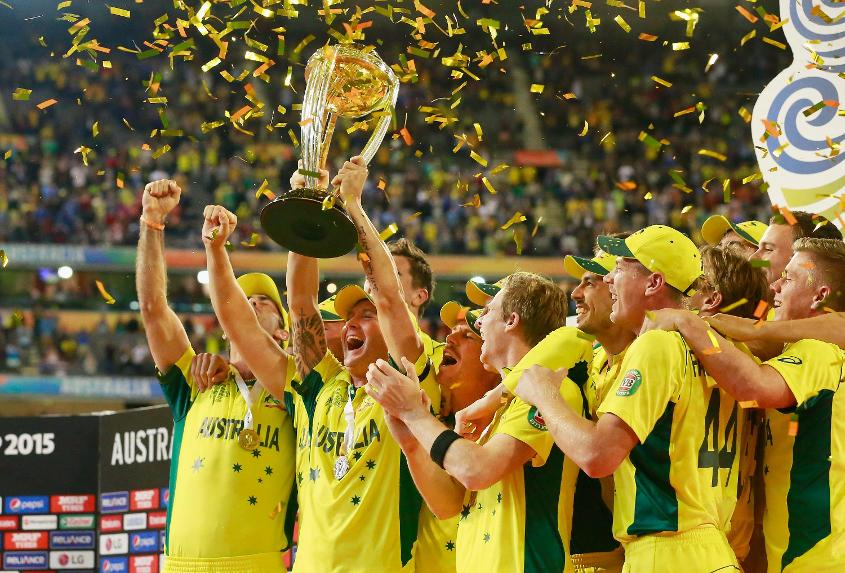 Australia won the 2015 edition of the ICC Cricket World Cup