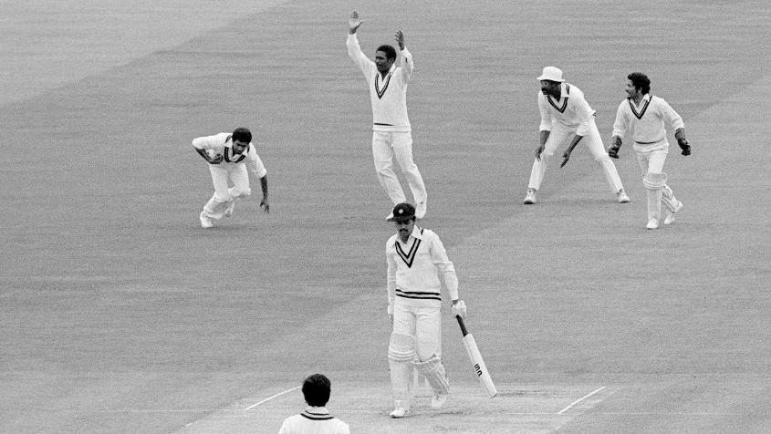 In 1979, Michael Holding, the Windies paceman, took four wickets on his World Cup debut against India