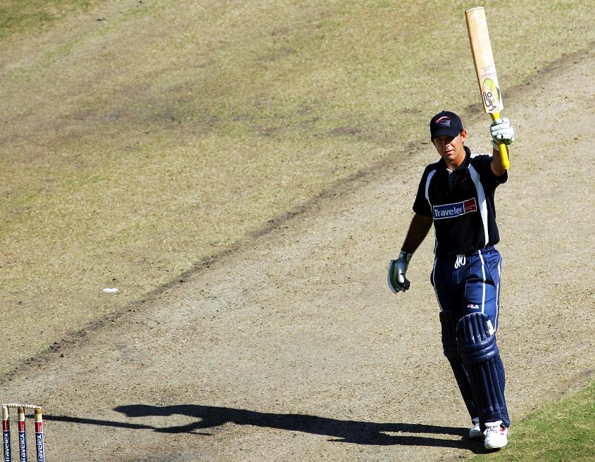 Ricky Ponting scored a century as World XI beat Asia XI by 112 runs