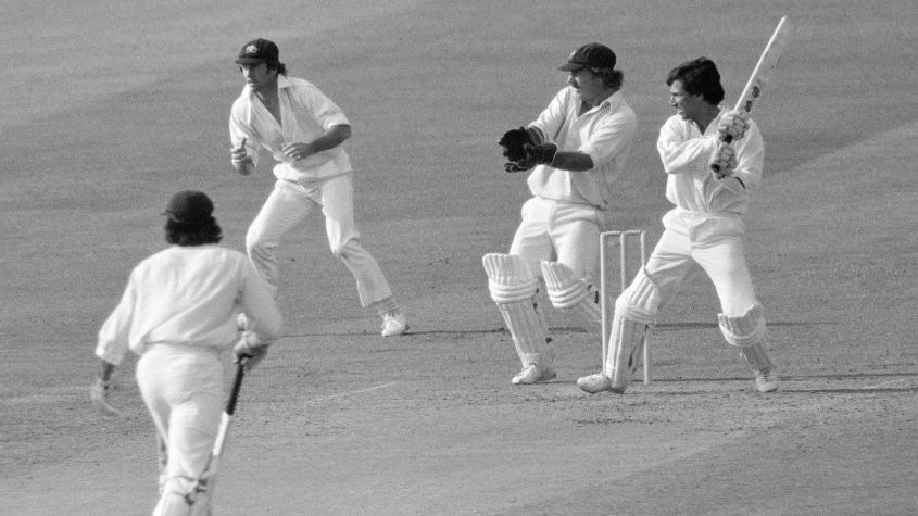 Australia started their 1975 tournament with a 73-run win over Pakistan in Leeds