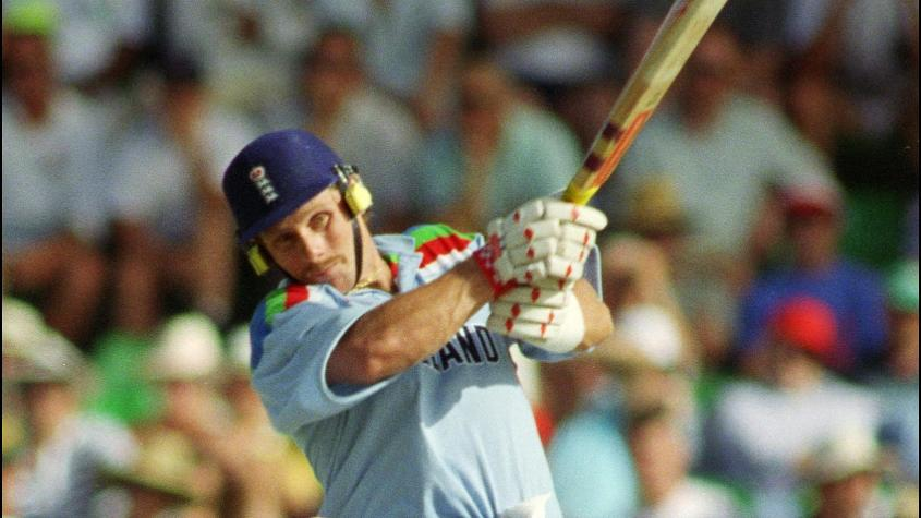 England started their 1992 tournament with a win, beating India in a tight affair by nine runs